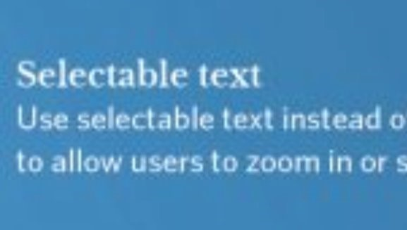 pixilated text